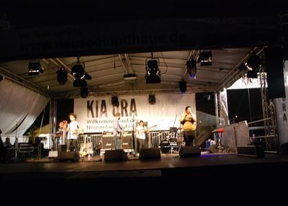 2012 - Neuseeland - Bühne