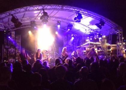 2014 - Finnland - Bühne